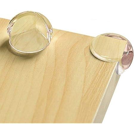 Doux BESLIME Protection Coin de Table 4 Pi/èces Protections d/'Angles Transparent Et Une Bande de Protection Transparente Plus Grande Taille et Plus Forte adh/érence