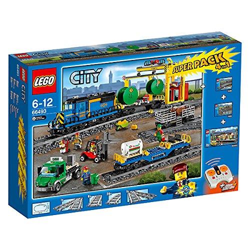 LEGO City 66493 Pack Train de Marchandises
