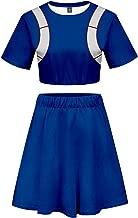 My Hero Academia Asui Tsuyu Uraraka Bakugou Todoroki Cosplay Costume Cheerleader Cheerleading Uniform Crop Top Dress