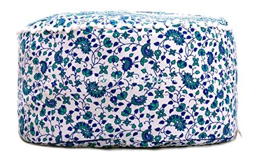 lart Box Dor/é ombr/é Mandala Coton Pouf Repose-Pieds Rond Coque Ethnique Indain Ottoman Pouf 100/% Coton.