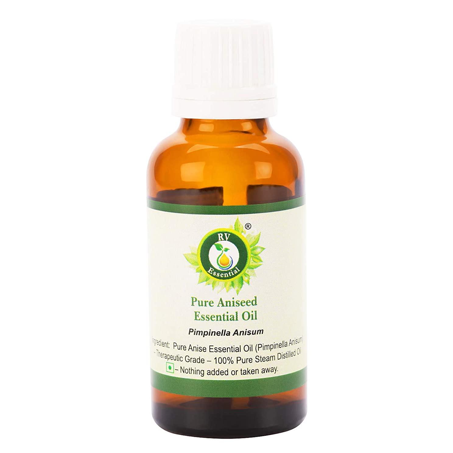 リスナー講師凍結ピュアAniseedエッセンシャルオイル630ml (21oz)- Pimpinella Anisum (100%純粋&天然スチームDistilled) Pure Aniseed Essential Oil