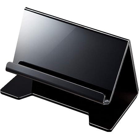 サンワサプライ タブレット・スマートフォン用デスクトップスタンド(ブラック) PDA-STN13BK