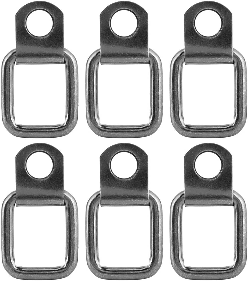 Tie-Down D-Rings 35% OFF Max 83% OFF Yctze 6Pcs Foldable Replaceme