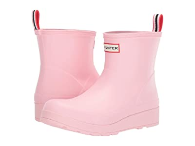 Hunter Original Play Boot Short Rain Boots (Candy Floss) Women