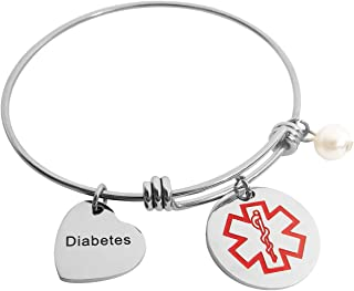 Amazon.com: medical alert jewelry for women
