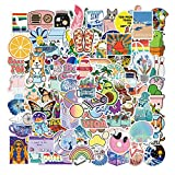 100Pcs VSCO Stickers for Water Bottles, Waterproof Trendy Aesthetic Stickers for Laptop Guitar Computer Phone, Cute Stickers Packs for Girls, Teens, Women