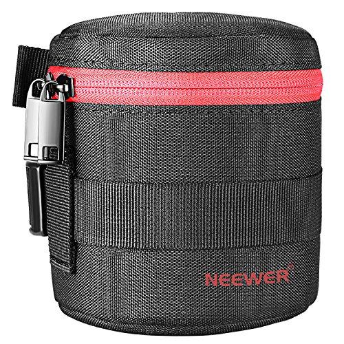 Neewer Tasche für Zylinder-Objektiv 18-55 mm, wie Canon 50-1.4 50-1.8 85-1.8 18-55 35-2, Nikon 50-1.8 16-85 18-55 35-1.8G 6G 0-2.8