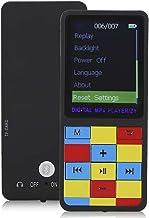 Bluetooth MP4 Player, T1 Portable Ultrathin 1.8 Inch Color Screen MP3 Mini Plug Card Video MP4 Bluetooth Music Player(Black) photo