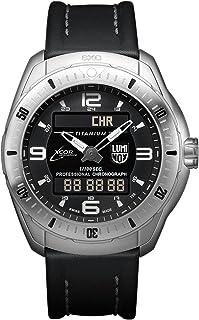 Luminox - XCOR Aerospace XX.5241.XS Reloj de pulsera Cuarzo Hombre correa de Cuero Negro
