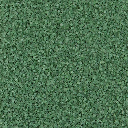 Hobbyland Sanding Sugar (Dark Green Sugar, 4 oz) Handcrafted with All Natural Food Coloring
