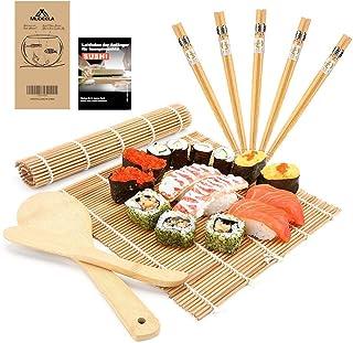 MUDEELA Sushi Set, Bambus Sushi Matte, Sushi Maker für Anf�