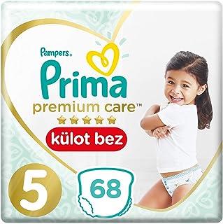 Prima Premium Care Külot Bebek Bezi, 5 Beden, 68 Adet, Junior Süper Fırsat Paketi