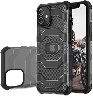 DTTO iPhone 12 case 5.4 inch | 15Ft. Drop Tested | Shock | Shatterproof - Slim | Hybrid Materials | Wireless Charging Compatible with iPhone 12 5.4