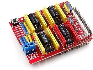 ARCELI V3 Engraver Shield 3D Printer CNC Expansion Card A4988 Driver Board Arduino