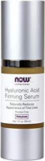 NOW Solutions, Hyaluronic Acid Firming Serum, Naturally Reduces Appearance of Fine Lines, 1-Ounce