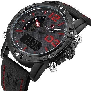 Watches Men Luxury Brand Quartz Leather Clock Man Sport Watches Army Military Watch Sports 9095 saat