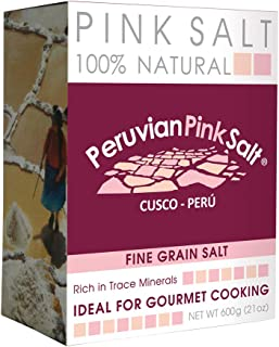 Power Super Foods Peruvian Fine Grain Pink Salt, 600 g