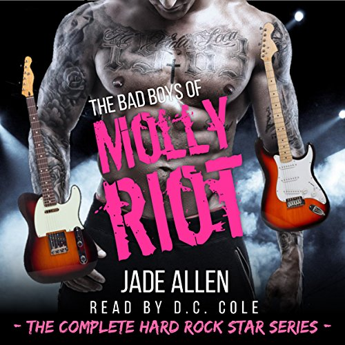The Bad Boys of Molly Riot audiobook cover art