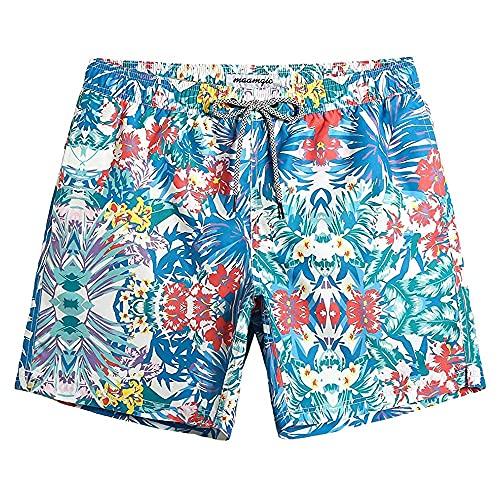 LVLUOKJ Bañador corto para hombre, ajuste ajustado, secado rápido, con forro de malla (color 3, talla: XL)