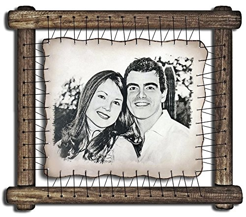 First Anniversary Gifts One Year Anniversary Gift For Her Ideas First Wedding Presents 1st Year Marriage 1 Year Anniversary Gifts For Him Rare Hand Drawn Pyrography Technique Amazon Ca Handmade