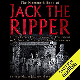 The Mammoth Book of the Jack the Ripper  cover art