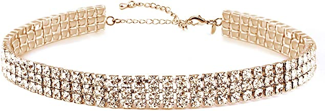 Best gold sparkly necklace Reviews