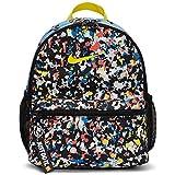 Nike Y NK BRSLA JDI Mini BKPK-AOP Sac à Dos de Sport Mixte Enfant, Black/Black/(Opti Yellow), FR Unique (Taille Fabricant : MISC)