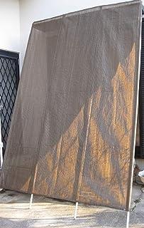 洋風たてす約W200×H300cmダークブラウン色 サンシェードタテス10尺 日除けよしず...
