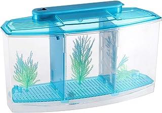 POPETPOP Caja de criador de Peces de Acuario Caja de Aislamiento de cría de Peces Rectángulo