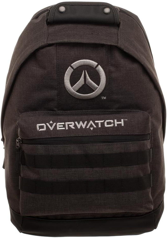 Bioworld - - - Overwatch Logo Rucksack, Charcoal - lizenzierte Blizzard Entertainment B078QJLW2D   Sale Online Shop  e88744