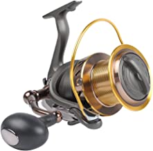 Dr.Fish Saltwater 10000/12000 Spinning Reel for Surf Fishing, 13+1 BBS, 48LB Max Drag, Ultra High Capacity, Heavy Duty Lon...