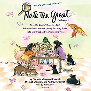Nate the Great Collected Stories: Volume 5 cover art