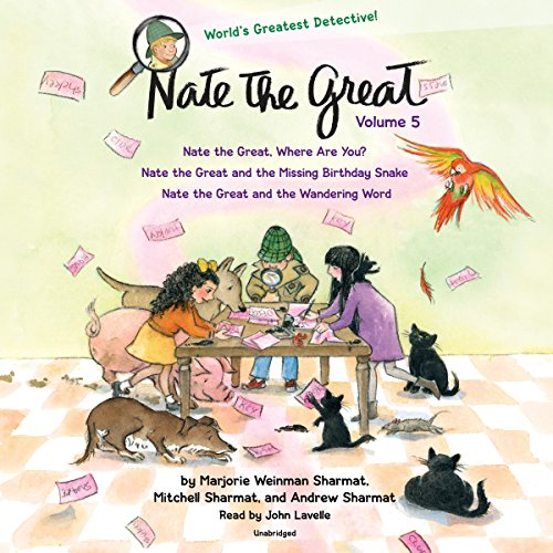 『Nate the Great Collected Stories: Volume 5』のカバーアート