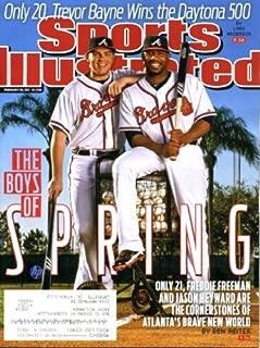 Sports Illustrated February 28, 2011 Freddie Freeman & Jason Heyward/Atlanta Braves on Cover, Trevor Bayne Wins Daytona 500, Blake Griffin's Dunkfest (Los Angeles Clippers), San Diego State Aztecs Basketball