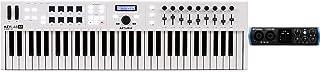 Arturia KeyLab Essential 61 61-key Keyboard Controller + PreSonus Studio 24c USB-C Audio Interface Value Bundle