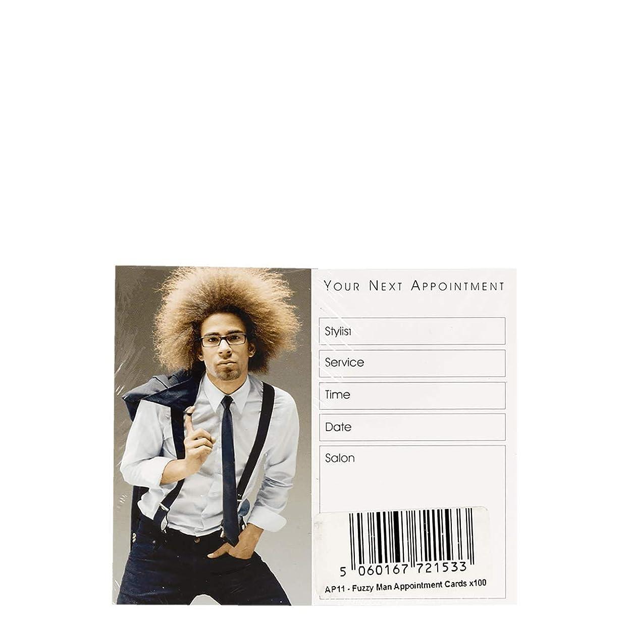 ブレース囚人ほこりアポイントメントカード Appointment Cards- AP11 FUZZY MAN CARDS x100[海外直送品] [並行輸入品]