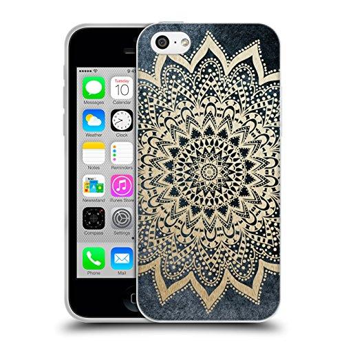 Head Case Designs Licenza Ufficiale Nika Martinez Boho Notte Mandala Cover in Morbido Gel Compatibile con Apple iPhone 5c