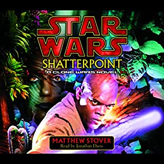 Star Wars: Shatterpoint audiobook cover art