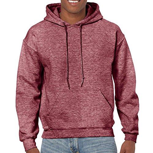 Gildan - Heavy Blend Hooded Sweatshirt - 18500 - M - Heather Sport Dark Maroon