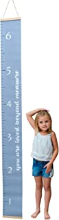 Adorable Kids Growth Chart by Morxy   Super Cute Children's Reusable Height Chart   Easy to Install Personalized Toddler Development Chart   Fun & Unisex Design   Track Your Baby's Growth