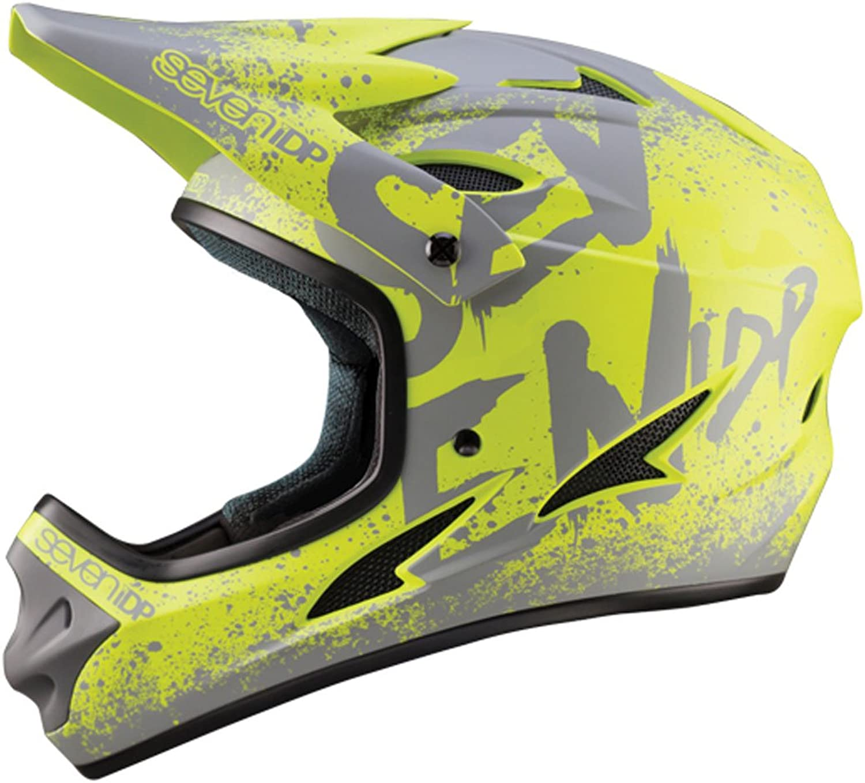 7 Predection 7iDP 2018 M1 Cycling Helmet  7706 (Gradient Matte Lime Grey  M (5658CM))