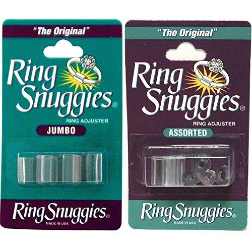 Ring Snuggies regolazione originale e Jumbo Misure **, COMBO PACK **