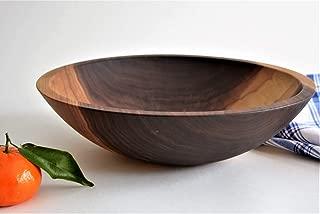 Large Bowl Solid Walnut 12