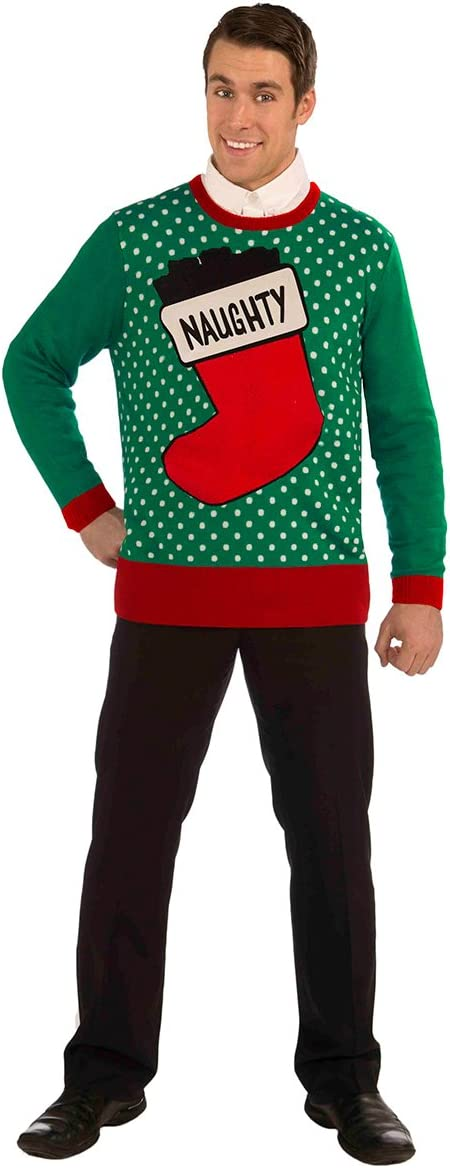 Forum Charlotte Mall Novelties Men's Adult All Wrapped Sweate Ugly Christmas Luxury goods Up