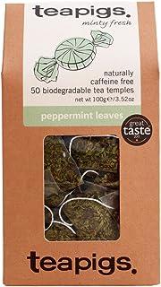 TEAPIGS Peppermint Leaves 100 g Pack of 1, Total 50 Tea Bags