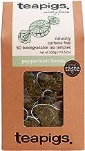 teapigs Peppermint Leaves Tea, 50 Count