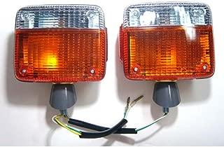 MotorStorex - Front Turn Signal Light Lamp (Left and Right) for Toyota Land Cruiser BJ40 BJ42 BJ43 BJ46 BJ45 FJ40 FJ43 FJ45 HJ47