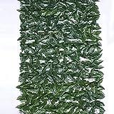 WXking Screening de jardín Cobertura Artificial Pantalla privada Garden Cerca Cercas Decorativas Ivy Hedge Pantalla de privacidad Modelo: G0522 (Color : Green, Size : 1x5m)