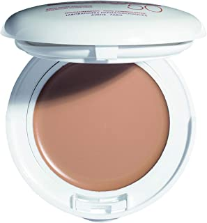 Eau Thermale Avene High Protection Beige Tinted Compact, Broad Spectrum SPF 50+, UVA/UVB Blue Light Protection, Water Resi...