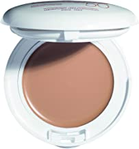 Eau Thermale Avene High Protection Tinted Compact, Broad Spectrum SPF 50+, UVA/UVB Blue Light Protection, Water Resistant, Non-Greasy, .35 oz